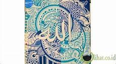 10 Kaligrafi Tulisan Asma Allah Yang Paling Indah Dan