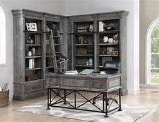 home office library furniture gramercy park corner library wall unit by parker house