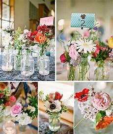 blumendeko hochzeit vintage blumen deko inspiration vintage weddingflowers