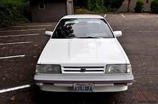 how it works cars 1989 subaru leone interior lighting 1989 subaru leone rx all wheel drive turbo survivor original no reserve