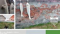 Diese Selbst Gemachten Holzfische H 228 Ngen Als Dekoration In