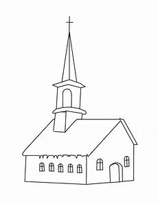 Kumpulan Gambar Untuk Belajar Mewarnai Gambar Gereja