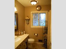 My new French Country Bathroom, Ceiling light is also a