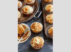 pumpkin cream cheese swirl muffins_image