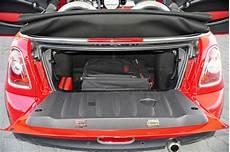 mini cabrio kofferraum kaufberatung mini one cabrio der spa 223 mini autobild de