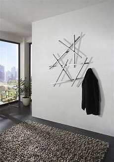 garderobe wandgarderobe marco metall schwarz lackiert mit