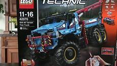 lego technic 42070 lego technic 42070 allrad abschleppwagen unboxing