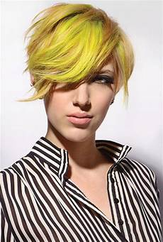 colors for short hairstyles
