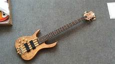 2016 New Factory Lefty Ken Smith 5 String Bass Quilted
