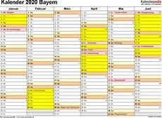 faschingsferien bayern 2020 kalender 2020 bayern ferien feiertage excel vorlagen