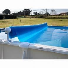 couverture piscine pas cher gre enrouleur de b 226 ches pour piscines hors sol achat