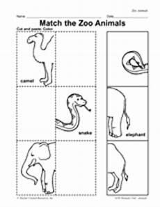 new 361 zoo matching worksheets zoo worksheet