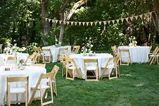 Garden Wedding Reception Ideas Simple