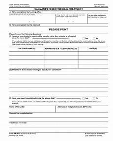 2020 ssa gov forms fillable printable pdf forms