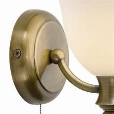 oboe single wall bracket bathroom light brass ofb