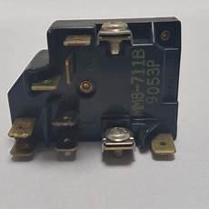 mrkk mm8 711b combined compressor starter relay and overload protector fridgebits