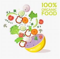 Organic Food Advertising Ingredient Vegetable Gambar Iklan