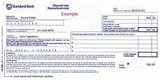 how to fill bank deposit slip easy steps to follow