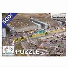Miniatur Wunderland Shop - puzzle quot knuffingen airport quot 500 teile ravensburger
