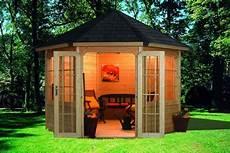 Gartenlauben Und Holzpavillon Als Bausatz G 252 Nstig