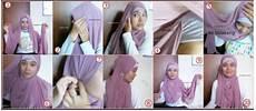 Cara Memakai Jilbab Segi Empat Untuk Sekolah