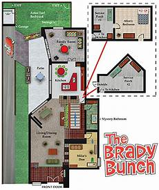 brady bunch house floor plan floor plan of the brady bunch house devilangel kidz