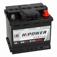 hr hipower autobatterie 12v 55ah batterie24 de