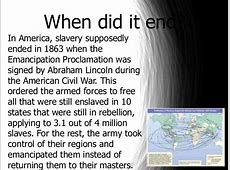 history of slavery in united states