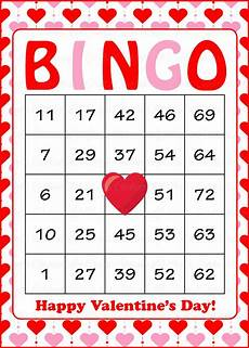 s day bingo printable free 20509 s bingo cards printable prefilled valentines pink