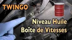 Twingo Faire Le Niveau D Huile De La Bo 238 Te De Vitesses