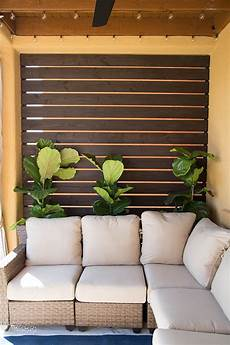 diy outdoor privacy screen tutorial the home depot