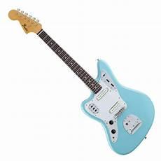 fender jaguar gaucher fender traditional 60s jaguar blue gear4music