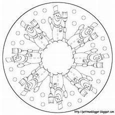 Malvorlagen Schneemann Tutorial Schneeballschlacht Mandala Mandala Malvorlagen Mandala