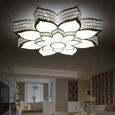 modern led crystal ceiling lights kristal acrylic brief