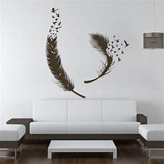 home decor wall decals birds of feather wall decals vinyl decal housewares