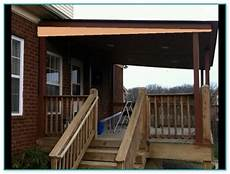 build a roof over deck home improvement
