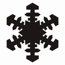 Transparent Background Snowflake Silhouette Snowflake Clip