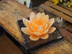candele a forma di fiore lac me shop candela a forma di fiore