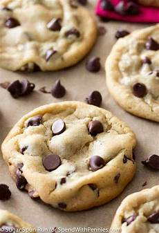 chocolate chip cookies spend with pennies