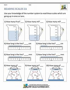 measurement capacity worksheets grade 2 1716 math 2nd grade math practice reading scales 2a gif 1 000 215 1 294 pixels measurement worksheets