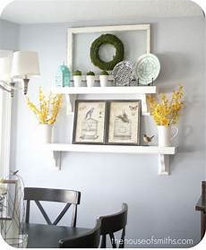 Decorating Ideas For A Blank Kitchen Wall by Decorating Shelves Everyday Kitchen Shelf Decor