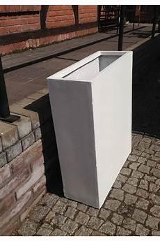 donica deef wysoka betonowa skrzynia ścianka biała s 2