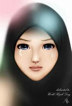 100 Gambar Kartun Muslimah Tercantik Dan Manis Hd Kuliah