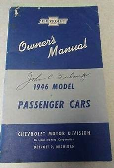 old cars and repair manuals free 2006 chevrolet ssr electronic throttle control 1946 chevrolet passenger car owners manual vintage oem original ebay