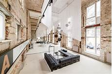 industrial vibe in a temporary showroom a space in berlin