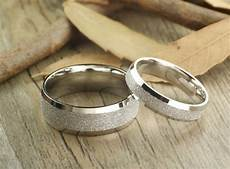 handmade wedding bands couple rings set titanium rings