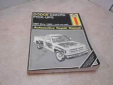 vehicle repair manual 1993 dodge dakota on board diagnostic system dodge durango dakota pick up haynes repair manual 163 3 99 picclick uk