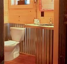 Bathroom Ideas Using Corrugated Metal by Rustic Galvanized Metal Bathroom Shower New Home Ideas