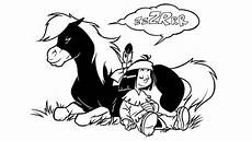 Yakari Pferd Ausmalbilder Ausmalbilder Yakari Kleiner Donner 01