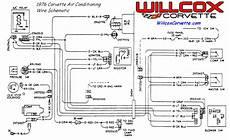 1976 Corvette Air Conditioning Wire Schematic Willcox